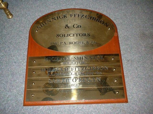 Cork Brass   Engraving