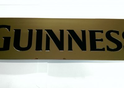 Deep Engraved Logo Plate