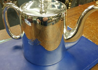 Teapot Re Silvered