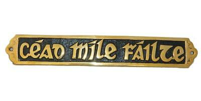Cead Mile sign Black Fill