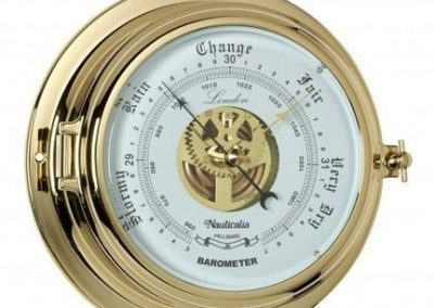 Lrg Porthole Barometer