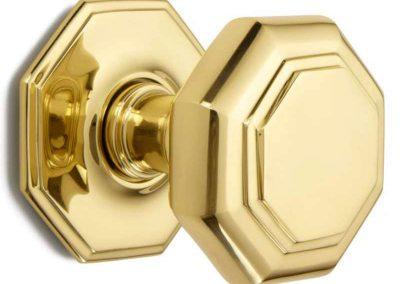 Octagonal Door Knob